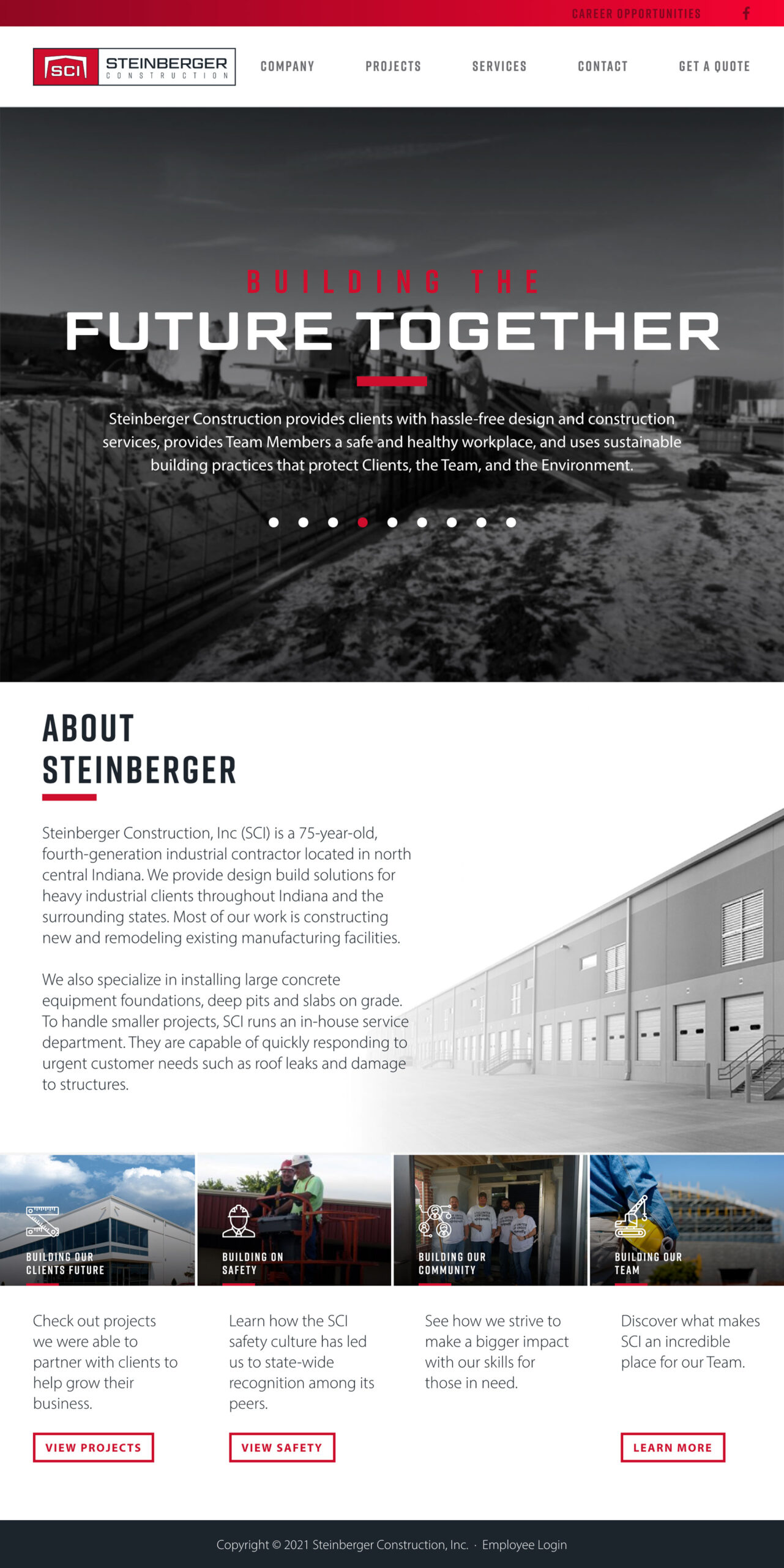 SCI-Landing-Page